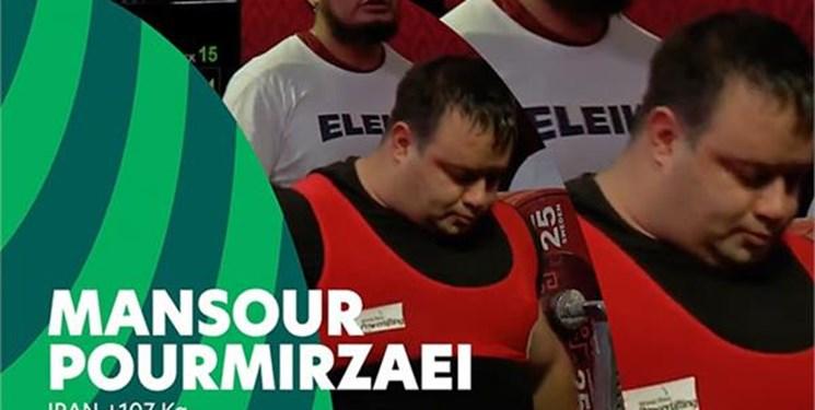 ملیپوش ایرانی در میان 10 ورزشکار برتر رقابتهای وزنه برداری پارالمپیک توکیو